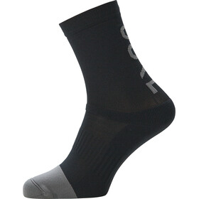GORE WEAR M Brand Mid Socks black/graphite grey